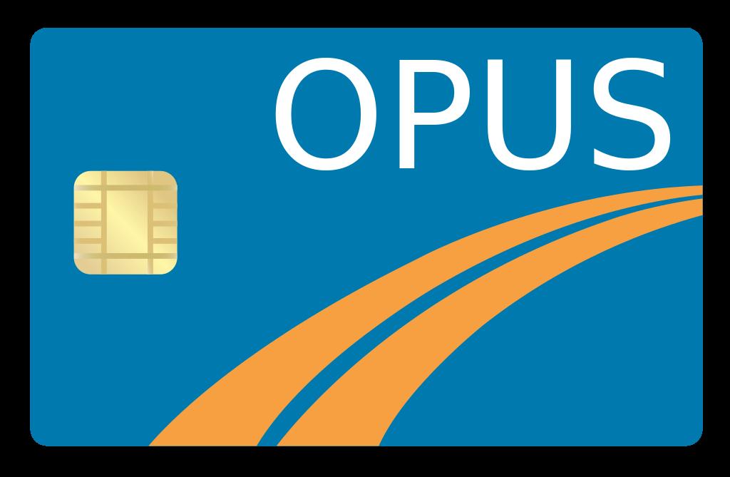 ケベックのバスのパスカード