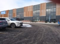 デカトロンの駐車場