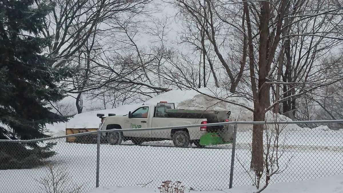 ケベックの除雪車