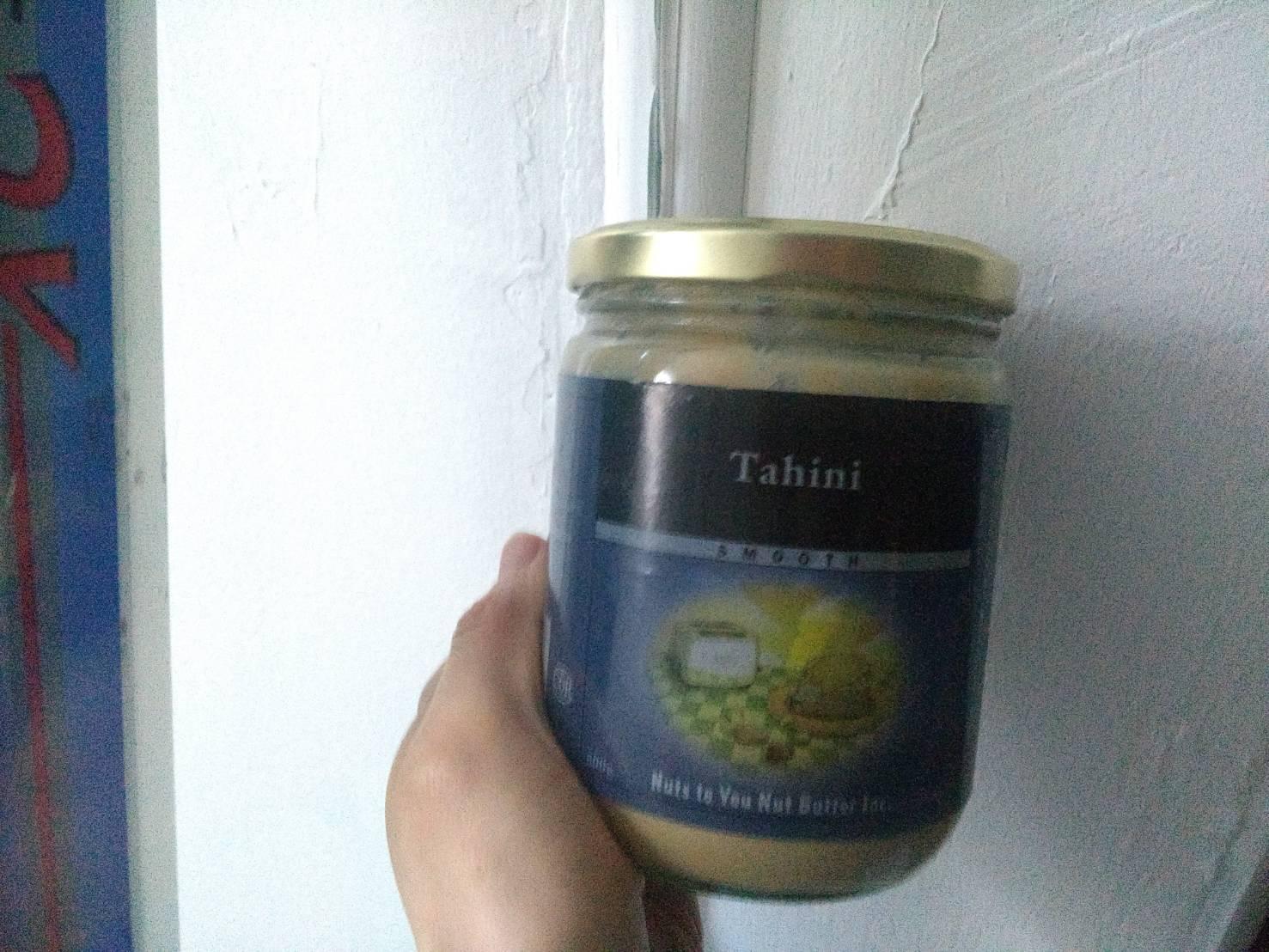 いりごまの代わりにTAHINI(海外でも和食)