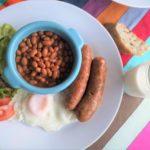 ケベックの朝食と昼食ブランチプレート
