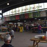 ジャンタロン市場の入り口