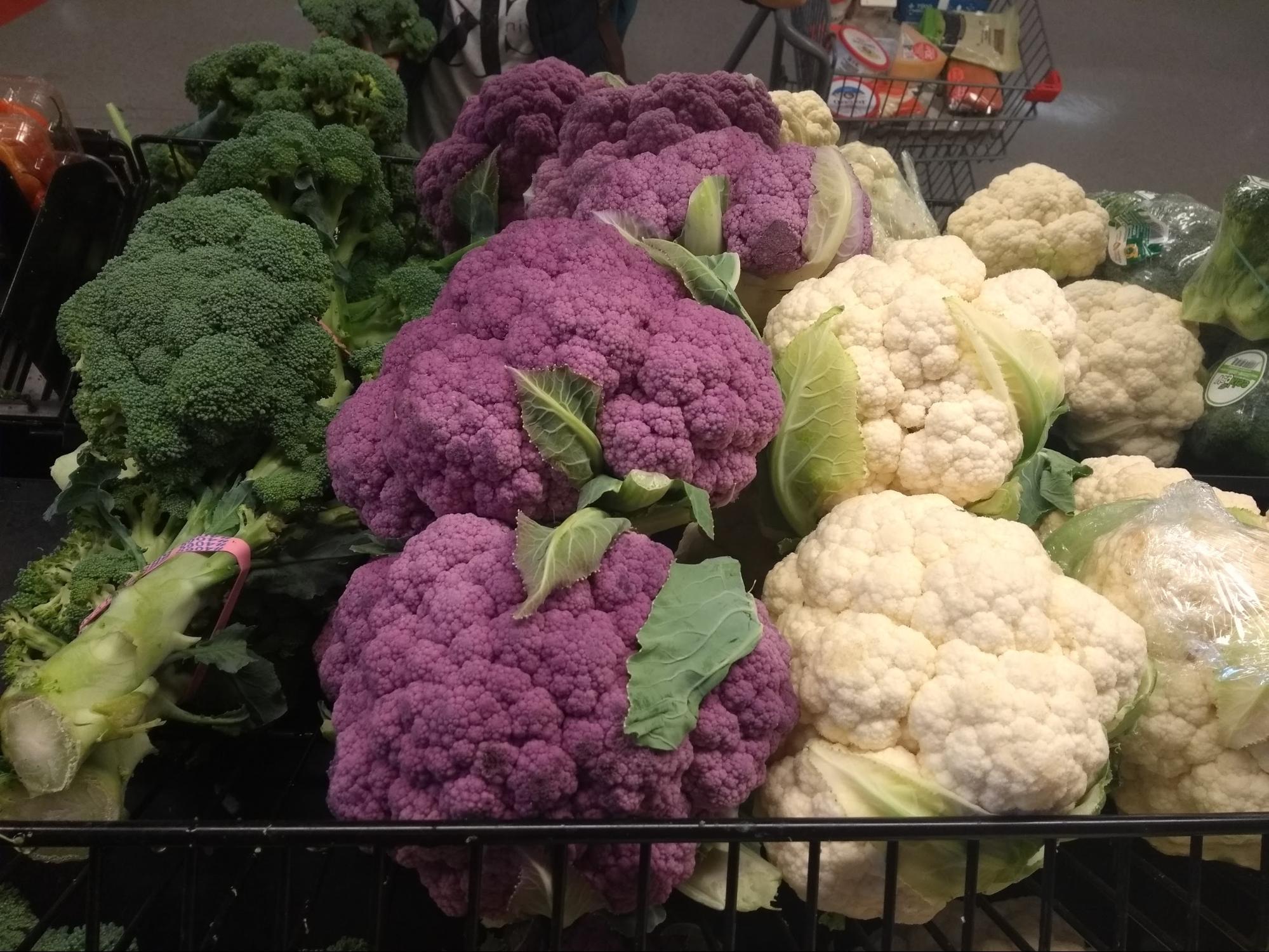 ケベックで見つけた不思議な色の野菜たち