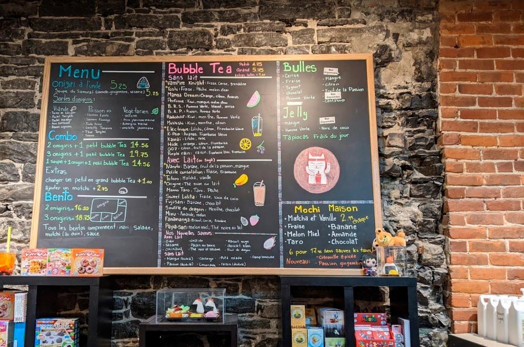 まるで日本のオシャレなコンビニカフェ? ケベックのFanamangaで日本を感じる